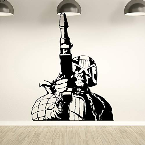 Kreative hero figur wandaufkleber für zuhause deocr boy raumdekoration zubehör wandtattoo vinyl kunst aufkleber 37 cm x 48 cm