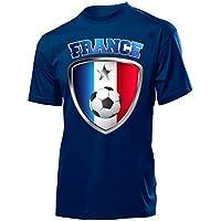 Frankreich Fanshirt - Herren T-Shirt Gr.S bis XXL - Golebros