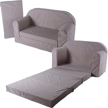 schlafsofa 100x172cm sofa kinder klappmatratze gästebett ... - Bettsessel Kinderzimmer Gastebett