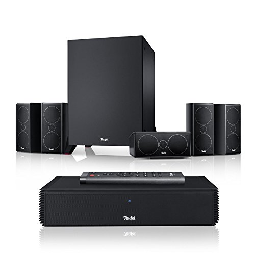 Teufel Consono 35 Complete Power Edition Schwarz Heimkino Lautsprecher 5.1 Soundanlage Kino Raumklang Surround Subwoofer Movie High-End HiFi Speaker