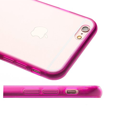 Apple iPhone 6S / 6 | iCues Bumpy Bumper Case Klare Rückseite Grün | Staubschutz durch Staubstecker Stöpsel Sttaubdicht Dust Proof Extra Leicht sehr Dünn Transparent Klarsichthülle Durchsichtig Klare  Türkis