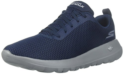 new arrival 7f476 386ea Skechers Go Walk Max-Effort, Baskets Homme, Bleu (Navy Grey)