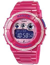CASIO BGD1214ER - Reloj de mujer de cuarzo, correa de resina color rosa