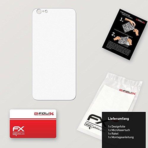 """Skin Apple iPhone 6 Plus """"FX-Carbon-Black"""" Designfolie Sticker FX-Soft-Alpine"""