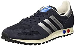 adidas Unisex-Erwachsene La Trainer Og Sneakers, Blau (Legend Ink F17/matte Silver/night Navy), 36 EU