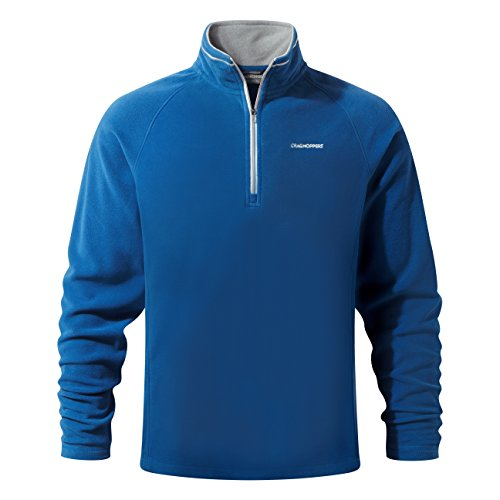 Craghoppers Herren Selby Half Zip Fleece, Deep Blue, XXL (Zip Polyester Half Pullover Fleece)
