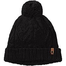 Volcom MÃ1/4tze Reverb Beanie - Gorro de esquí para mujer, color negro, talla única