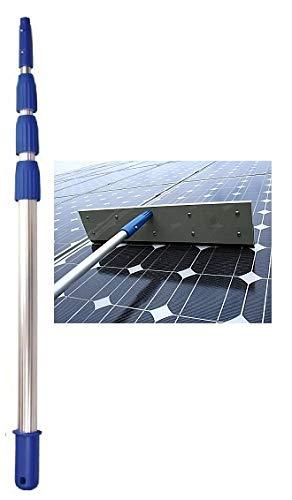 Teleskopstange Schneeschieber Set 6m Solar PV Reinigung Solarreinigung