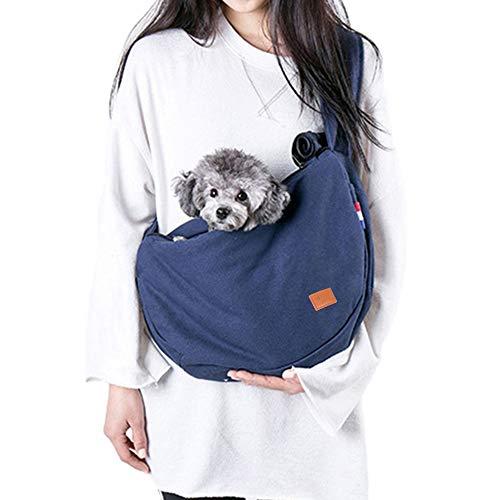 Mochila Perros Gatos Mascotas Bolsa Cotón Transporte