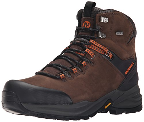 Merrell - Phaserbound Waterproof, Scarpe da arrampicata Uomo Marrone (Clay/orange)