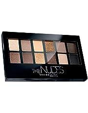 Maybelline New York The Nudes Palette Eyeshadow, 9g