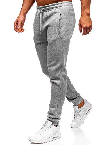 BOLF Hombre Pantalón De Chándal Pantalones Algodón