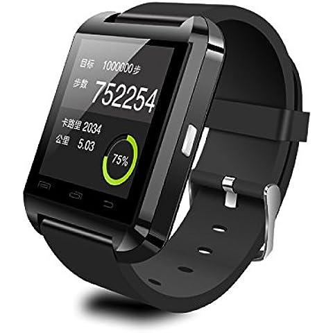 Smartwatch Elegante el sueño de contador de paso U8 seguimiento niños perdido salud monitoreo seguimiento anti-Bluetooth teléfono reloj , black
