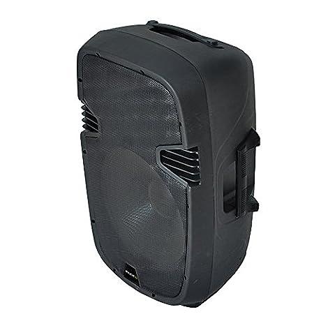 Ibiza QMS15A Enceinte PA active amplifiée USB Bluetooth 38cm (15