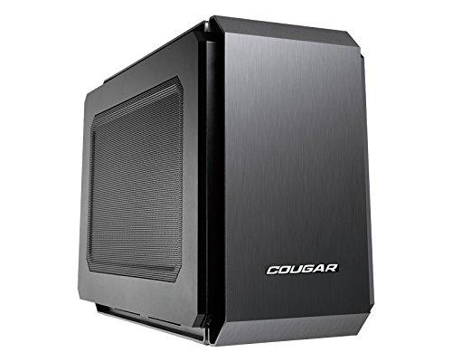 Cougar QBX Mini-ITX-Gehäuse - schwarz Mesh Window