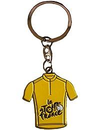 Porte clés - Le Tour de France Cyclisme - Collection offficielle - Modèle Maillot Jaune - velo