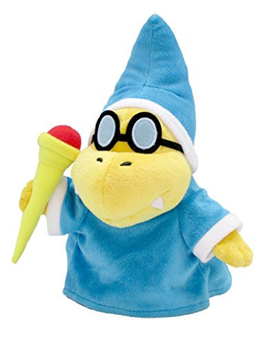 Super Mario -  Magikoopa / Kamek Plush - Japan Import - 20.5cm 9""