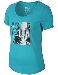 Nike Camiseta Manga Corta Tee-Scoop Photo Jdi Cielo L