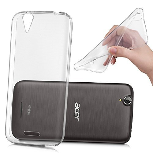 HCN PHONE Acer Liquid Z630/Z630S Cover Hülle TPU Silikon- Gel Flexibel Ultradünne für Acer Liquid Z630/Z630S - TRANSPARENT