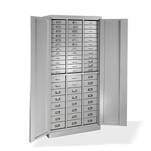 ADB Metall-Schubladenschrank/Schubladencontainer / Werkzeugschrank/Materialschrank 80x41x179 cm...