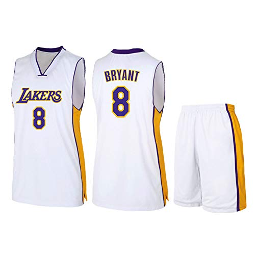 HS-WANG9 Los Angeles Lakers # 8 Kobe Bryant Uniformes
