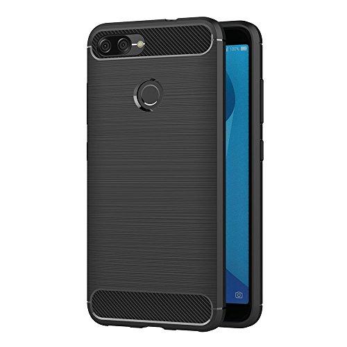 AICEK Coque ASUS Zenfone Max Plus M1 Noir Silicone Pour 699 EUR