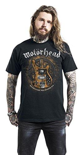 Motörhead Bass Guitar T-Shirt schwarz Schwarz