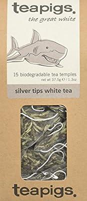 Teapigs Thé Blanc aux Aiguilles d'Argent 37,5g