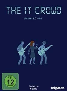 The IT Crowd - Version 1.0 - 4.0 ( Die komplette Staffel 1-4) [4 DVDs]