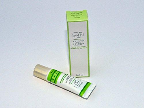 Satin Lips Shea Butter Balsam Weißer Tee und Zitrone 8g MHD 2020/21 -