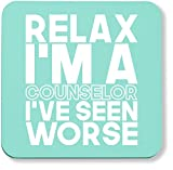 Best Counselor Mugs - Hippowarehouse Relax I'm a counselor I've seen worse Review