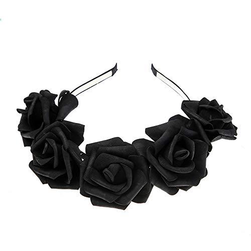 Oyedens Blumenstirnband, Foto-Hochzeits-Feiertagsstirnband Der Rosafarbenen Frauen Neues Karneval -