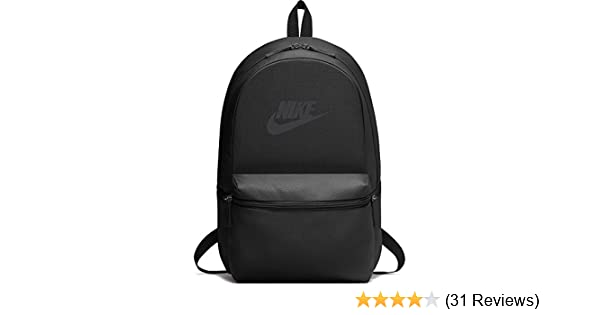 626cfc0a7b03 Nike Heritage Black 26L Laptop Backpack (BA5749-010)  Nike  Amazon.in   Bags