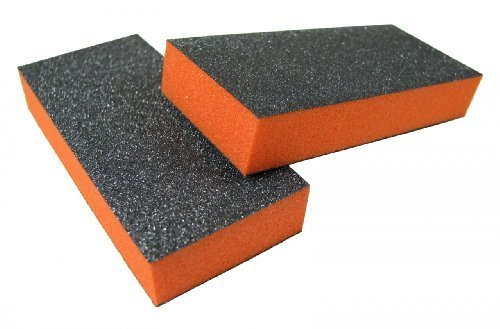 2 Way Slim Orange Buffer 3 x 1.3 x 0.5 150/150 24 Pack by Jaylie by Jaylie