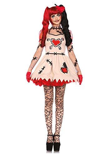 Leg Avenue 85434 - Voodoo Cutie Kostüm, Größe Small (EUR 36)