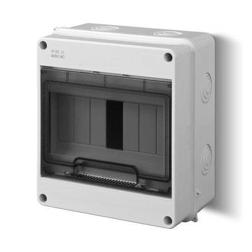 Sicherungskasten Kleinverteiler IP55 Aufputz 7 Module 1