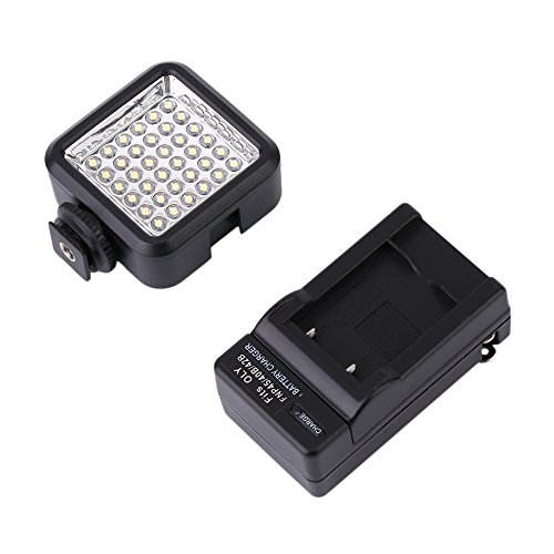 Preisvergleich Produktbild Logicstring 36 LED-Digitalkamera / Camcorder Video-Licht mit hohen Leistung für Nikon,  Sony,  Panasonic-Kamera oder Camcorder
