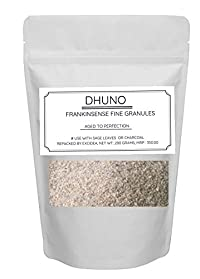 ExcIdea Frankincense Boswellia 200 Grams Dhuno for Sage Leaves Dhoop Fine Granules Puja Worship Incense