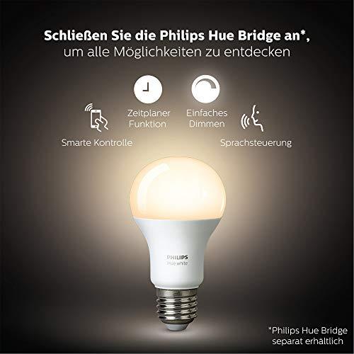 4110w--ZYHL [Bon Plan Philips HUE] Philips Hue Dimming Kit  White avec 1XE27 9,5W [Interrupteur avec Variateur Inclus] - Fonctionne avec Alexa