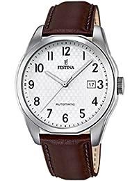 Festina Herren-Armbanduhr Retrograde Analog Automatik Leder F16885/1