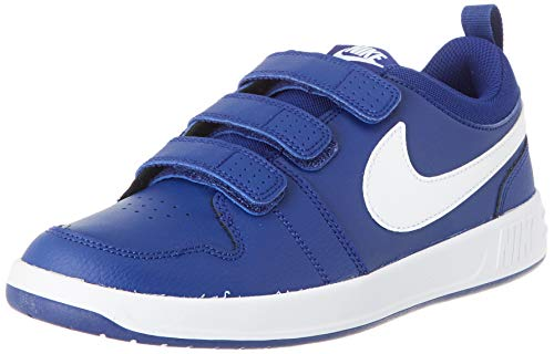 Nike Unisex-Child Pico 5 (GS) Sneaker, Deep Royal Blue/White, 37.5 EU