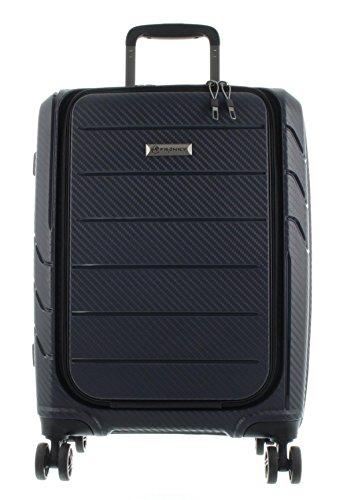 Franky Spinner Gr. S Handgepäck Koffer mit TSA-Zahlenschloss Dunkelblau