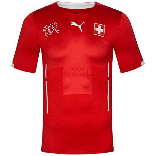 Schweiz PUMA Herren Heim Trikot 701822-01