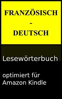 Französisch-Deutsch Lesewörterbuch (Lesewörterbücher 2) von [Saase, Victor]