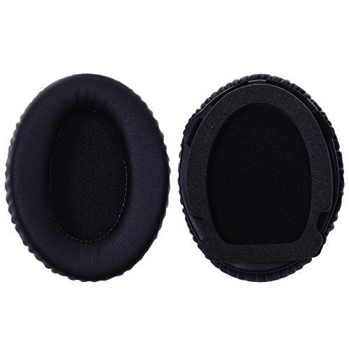 Kosmos® Ersatz Ohrpolster/Ohr Cover/-Cup für Bose Aviation Headset/Kopfhörer A10A20-Schwarz Farbe A20 ® Aviation Headset