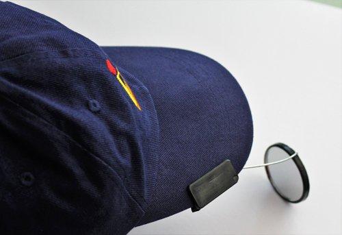 cap-mounted Sculler de espejo por coxmate–Espejo retrovisor para Rowing y Sculling directamente en tu Hat- Full & Amplia visión trasera para su Seguridad de remo