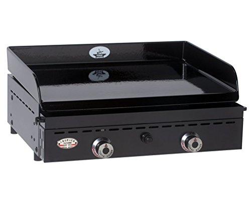 Forge Adour Iberica 600Grille de contact de table gaz naturel 6600W Noir