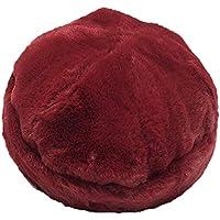 Gorros Gorro De Sombreros Gorras Calentar Cálido Unisex Beanie Sombrero Salvaje Lindo Invierno De Las Mujeres Cálidas ZHANGGUOHUA (Color : Red)