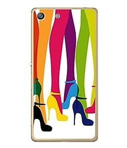 PrintVisa Designer Back Case Cover for Sony Xperia M5 Dual :: Sony Xperia M5 E5633 E5643 E5663 (Group of girls Modern)