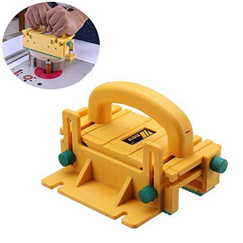 MOGOI 3D Pushblock per seghe da Tavolo, tavoli per frese, seghe a Nastro e Giunti, 3D Safety Table Saw Strumenti per la Lavorazione del Legno, 12.6 * 11.4 Pollici